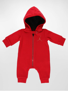Jordan Jumpsuits Metal ManHooded red