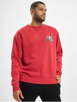 Jordan Pullover JMC Fleece Crew red