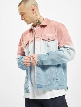 Karl Kani Denim Jacket Gradient Denim Shirt blue