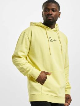 Karl Kani Hoodie Small Signature Washed yellow