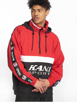 Karl Kani Lightweight Jacket Retro Block red