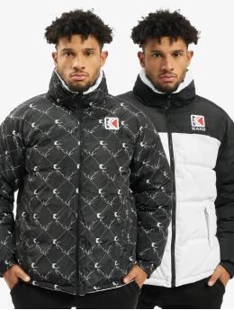 Karl Kani Puffer Jacket Retro Reversible white