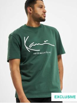 Karl Kani T-Shirt Exclusiv Signature Brk green