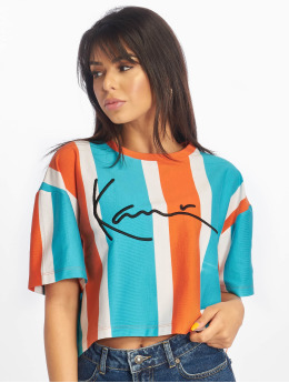 Karl Kani T-Shirt Signature Stripe orange