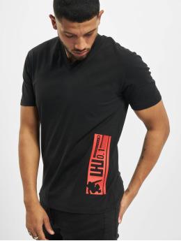 Les Hommes T-Shirt Barcode Rubber  gray