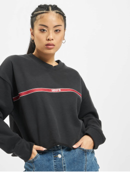 Levi's® Pullover Graphic Raw Cut Type Tape black