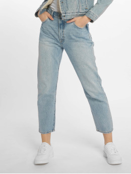 Levi's® Straight Fit Jeans 501 Crop Lovefool indigo