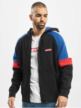 Levi's® Zip Hoodie Pieced  black