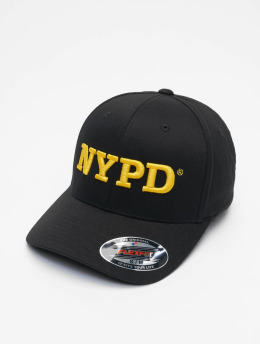 Merchcode Flexfitted Cap Nypd 3d Logo black