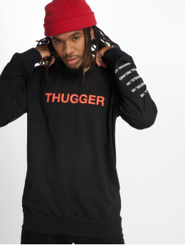 Merchcode Pullover Thugger Childrose black