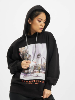 Missguided Hoodie Petite Bad Influence black
