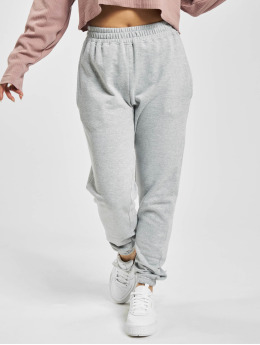Missguided Sweat Pant Petite Grey Marl Basic gray