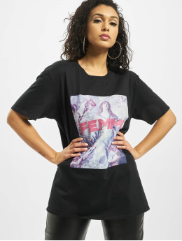 Missguided T-Shirt Femme Graphic black