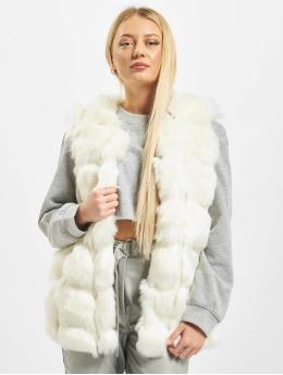 Missguided Vest Bubble Gilet  white