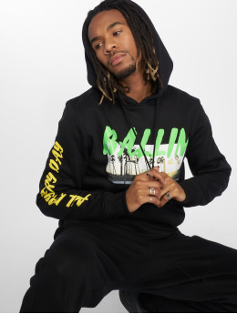 Mister Tee Hoodie Tee All Day Ballin black