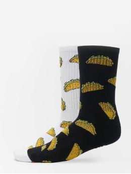 Mister Tee Socks Taco 2-Pack white