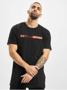 Mister Tee T-Shirt Reloveaution  black