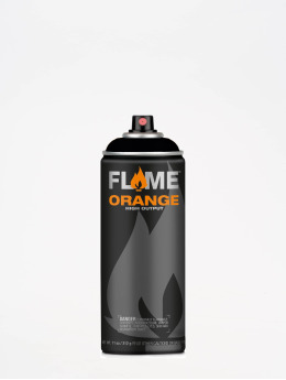 Molotow Spray Cans Flame Orange 400ml Spray Can 904 Tiefschwarz black