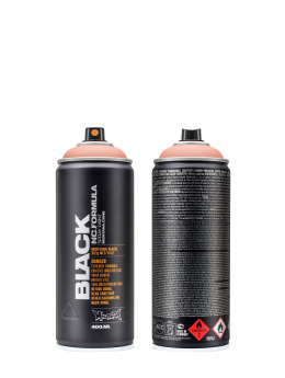 Montana Spray Cans BLACK 400ml 3220 Mr. Crab rose