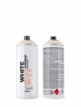 Montana Spray Cans WHITE 400ml 9100 Ancient White white