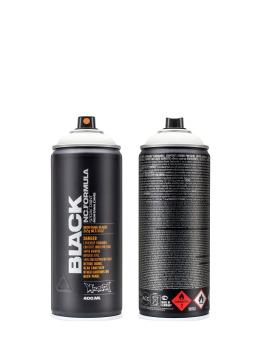 Montana Spray Cans BLACK 400ml 9105 White white