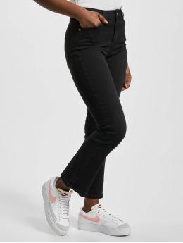 NA-KD Chino pants Cropped Flare black