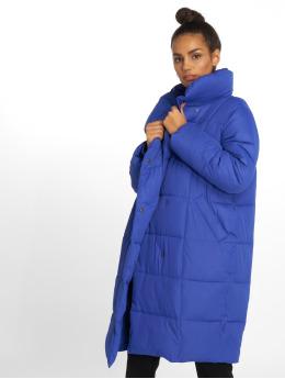 NA-KD Lightweight Jacket Padded Shawl Collar blue