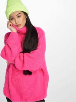 NA-KD Pullover Neon Oversized pink