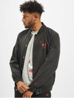 New Era Bomber jacket NBA Chicago Bulls Team Logo  black