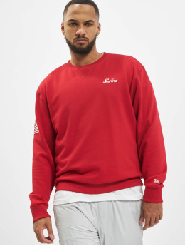 New Era Pullover Script  red