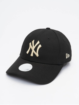 New Era Snapback Cap MLB NY Yankees Womens League Essential black