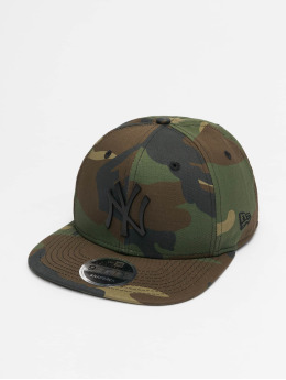 New Era Snapback Cap MLB NY Yankees Metal Badge camouflage