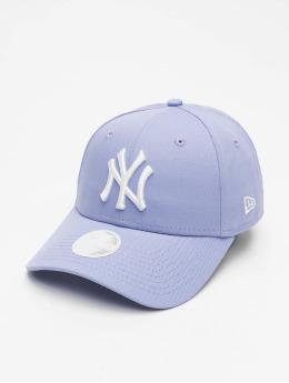 New Era Snapback Cap MLB NY Yankees League Essential 9Forty  purple