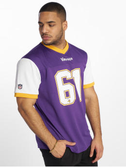 New Era T-Shirt Nfl Tri Colour purple