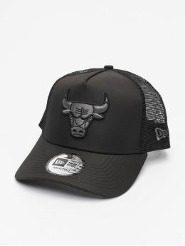 New Era Trucker Cap NBA Chicago Bulls Tonal Black AF black