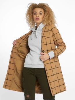 New Look Coats Window 23 Grid Check beige
