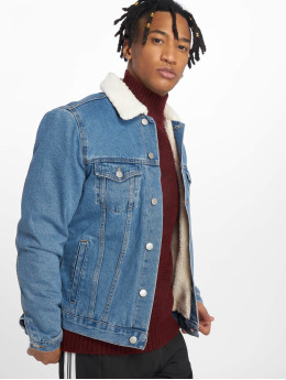 New Look Lightweight Jacket AW18 Borg Denim blue