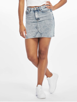 New Look Mom Jeans Yoke Front Acid Willow blue