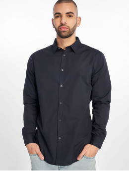 New Look Shirt New Longsleeve Poplin blue