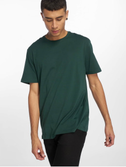 New Look T-Shirt Crew SN Tee green