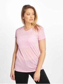 New Look T-Shirt Leopard Burnout rose