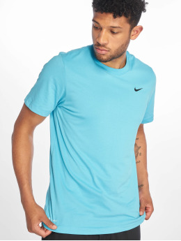 Nike Performance Sport Shirts Dry DFC Crew blue