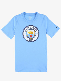 Nike Performance T-Shirt Manchester City FC Crest  blue