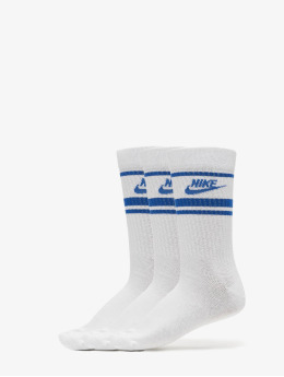 Nike Socks Crew Essential Stripe white