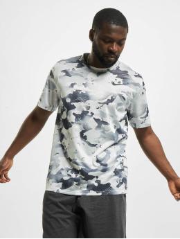 Nike T-Shirt Dry Leg Camo Allover Print gray