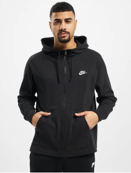 Nike Zip Hoodie Full Zip JSY black