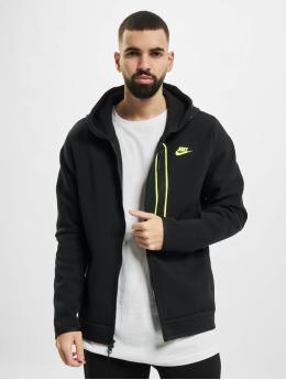 Nike Zip Hoodie M Nsw Tch Flc Fz Am black