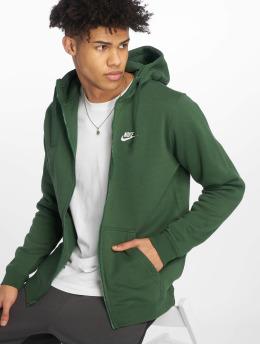 Nike Zip Hoodie Sportswear green
