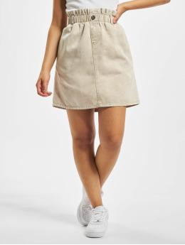 Noisy May Skirt nmJudo Ellen Short Paperback beige