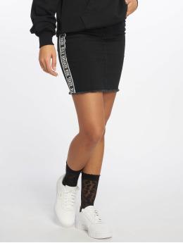Noisy May Skirt nmBe Lexi High Waist Tape X2 black